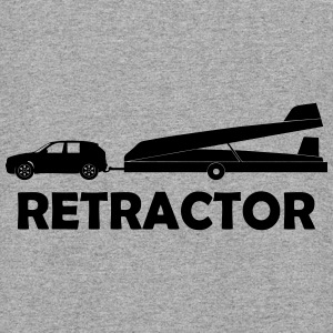 retractor glider pilot - Colorblock Hoodie