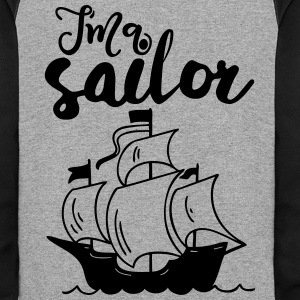 I'm a Sailor - Colorblock Hoodie