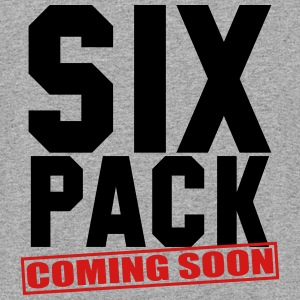 SIX PACK COMING SOON GYM WORKOUT FITNESS - Colorblock Hoodie