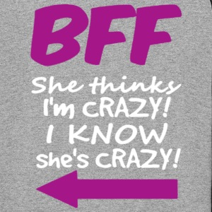 I KNOW SHE IS CRAZY - Colorblock Hoodie