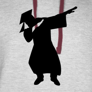 Funny Graduation dabbing gifts - Colorblock Hoodie