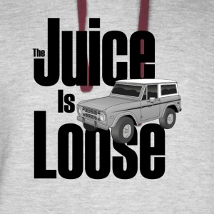 The Juice Is Loose Bronco - Colorblock Hoodie