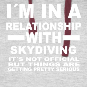 relationship with SKYDIVING - Colorblock Hoodie