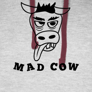 Mad Cow - Colorblock Hoodie
