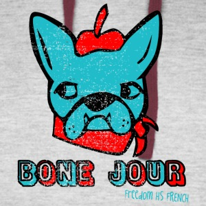 Bone Jour Freedom HS French - Colorblock Hoodie