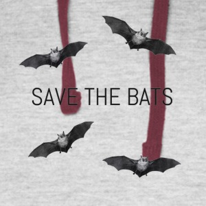 Save the Bats - Colorblock Hoodie