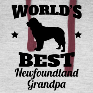 World's Best Newfoundland Grandpa - Colorblock Hoodie