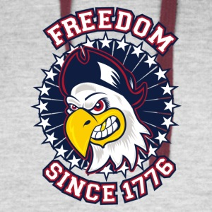 FREEDOM EAGLE Freedom since 1776 - Colorblock Hoodie