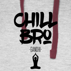 Chill Bro - Colorblock Hoodie