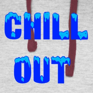 chill out - Colorblock Hoodie