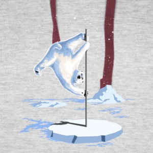 North Pole Dancer - Colorblock Hoodie