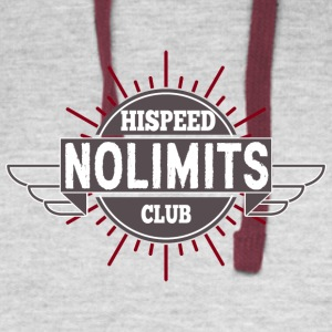 No Limits Hispeed Club - Colorblock Hoodie