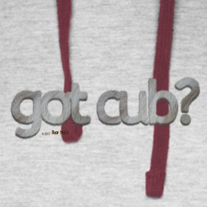 got cub?-Furry Fun-Gay Bear Pride-Silverback - Colorblock Hoodie