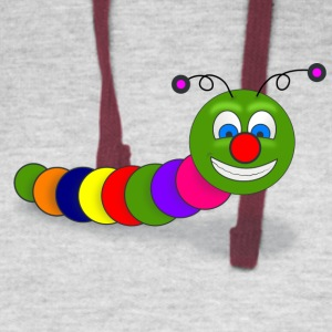 Funny Worm - Colorblock Hoodie