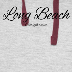 California Long Beach US DESIGN EDITION - Colorblock Hoodie