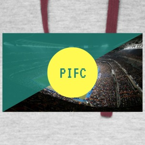 Pitch Invaders FC Youtube Channel - Colorblock Hoodie