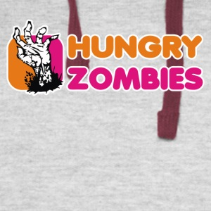 Hungry Zombies - Colorblock Hoodie