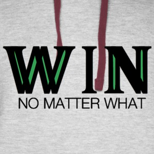 WIN No Matter What - Colorblock Hoodie