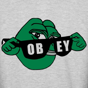 Pepe the Frog Sunglasses Obey - Colorblock Hoodie