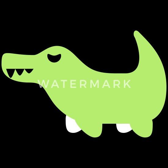 Crocodile Emojis Baby Bib   Spreadshirt