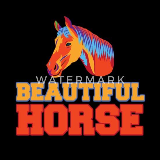 Beautiful Horse Ride Riding Girl Baby Bib Spreadshirt