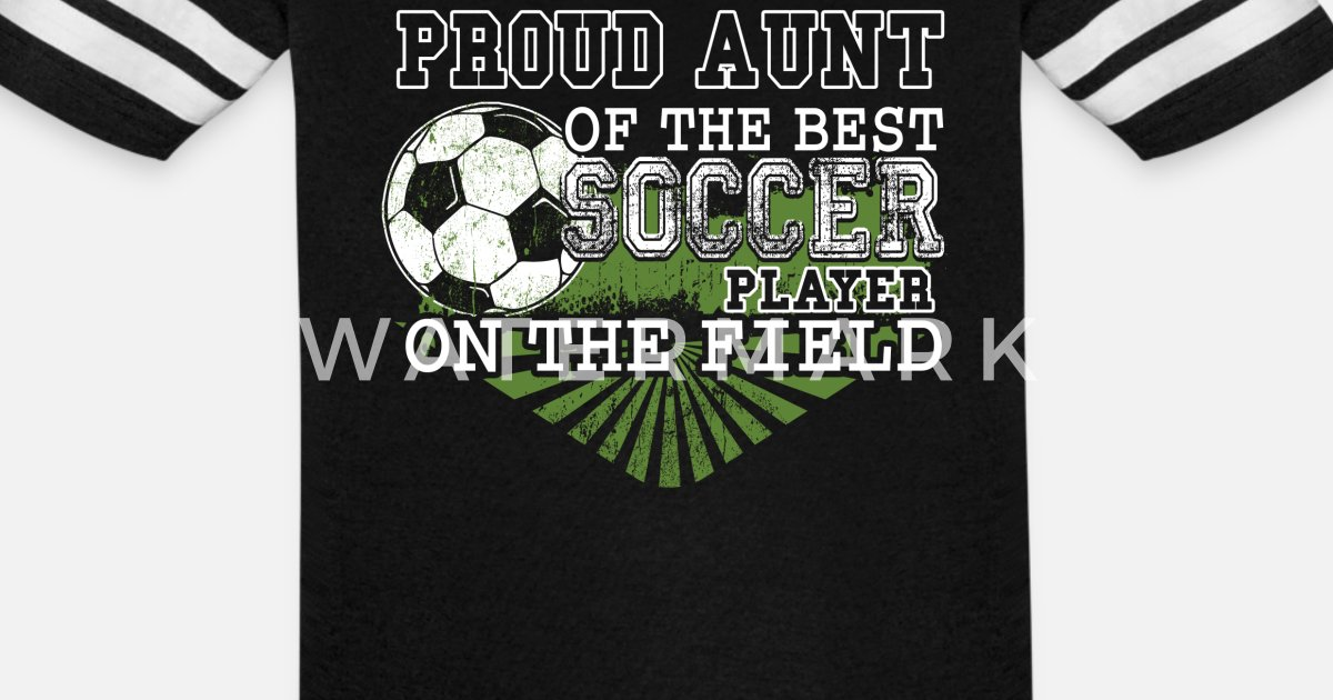 18eda0e8206 Proud Aunt Of The Best Soccer Player T Shirt Unisex Vintage Sport T-Shirt |  Spreadshirt