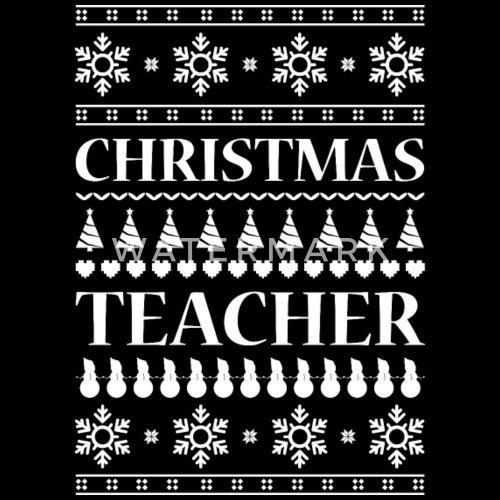 Teacher ugly christmas gift idea school holiday by   Spreadshirt