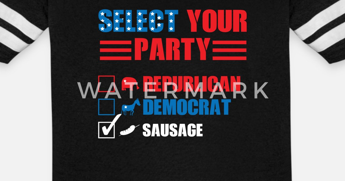 Sausage Party Funny Political Election Voting Humor Unisex