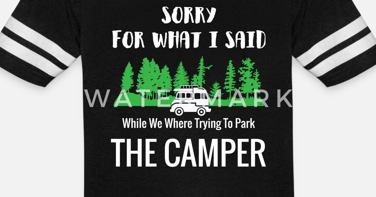 Funny Camper RV Camping Family Vacation product Unisex Vintage Sport  T-Shirt   Spreadshirt