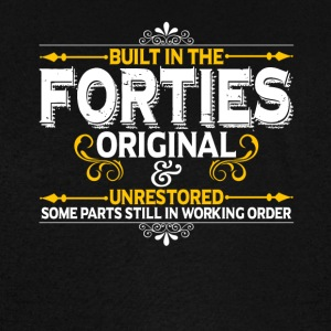 Built In The Forties Great Gift For Any Born In Th - Vintage Sport T-Shirt