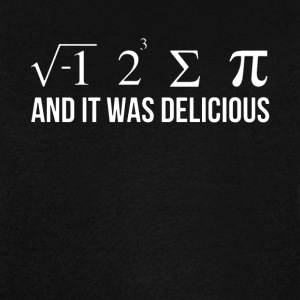 and it was delicious math - Vintage Sport T-Shirt