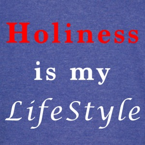 Holiness is my lifestyle - Vintage Sport T-Shirt