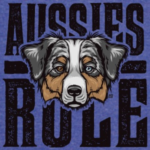 Aussies Rule Australian Shepperd Dog - Vintage Sport T-Shirt
