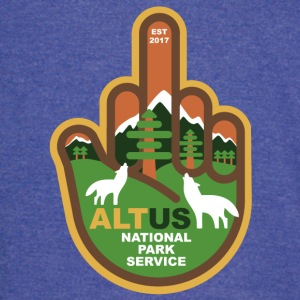 ALT US National Park Service - Middle Finger - Vintage Sport T-Shirt