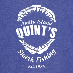 Quint s Shark Fishing - Vintage Sport T-Shirt