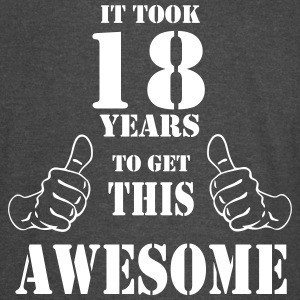 18th Birthday Get Awesome T Shirt Made in 1999 - Vintage Sport T-Shirt