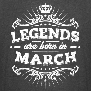 Legends Are Born In March Birthday Shirt - Vintage Sport T-Shirt
