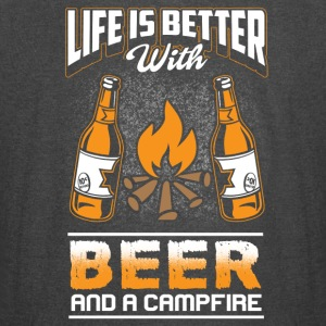 Life is better - Beer and Campfire - Vintage Sport T-Shirt