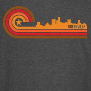 Retro Style Greenville South Carolina Skyline - Vintage Sport T-Shirt