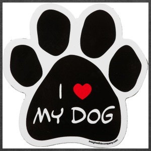 I love my dog - Vintage Sport T-Shirt