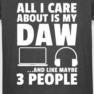 All I Care About Is My DAW - Vintage Sport T-Shirt