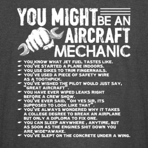 AIRCRAFT MECHANIC SHIRT - Vintage Sport T-Shirt