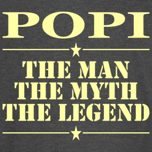 Popi The Man The Myth The Legend - Vintage Sport T-Shirt