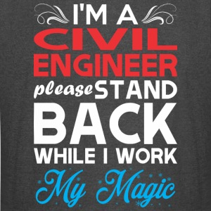 Im Civil Engineer Stand Back I Work My Magic - Vintage Sport T-Shirt