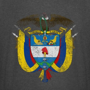 Colombian Coat of Arms Colombia Symbol - Vintage Sport T-Shirt