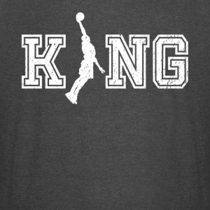 King of bball graphic basketball shirt - Vintage Sport T-Shirt