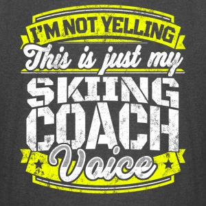 Funny Skiing coach: My Skiing Coach Voice - Vintage Sport T-Shirt