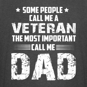 The Most Important Call Me Dad T Shirt - Vintage Sport T-Shirt