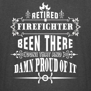 Retired Firefighter Been There Done That T Shirt - Vintage Sport T-Shirt