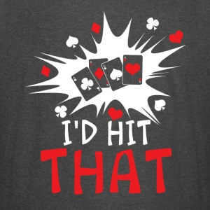 I'D HIT THAT FUNNY POKER SHIRTS - Vintage Sport T-Shirt
